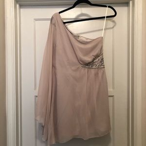 FREE PEOPLE ONE SHOULDER COCKTAIL DRESS
